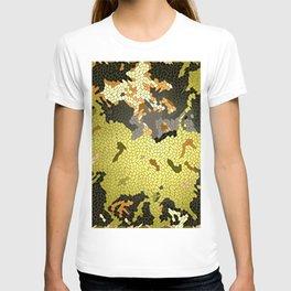 Abstract leaves mosaik T-shirt