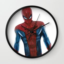 The friendly neighborhood Spidey Wall Clock