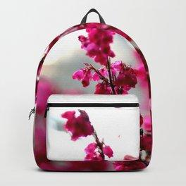 Autumn Windows Flowers Backpack