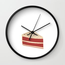 Pie Like You Berry Much Foodie Sweet Tooth T-Shirt Wall Clock