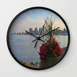Skyline of Halifax, Nova Scotia Wall Clock
