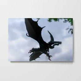Green Dragon4 Metal Print