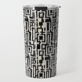 Maze Knit Travel Mug