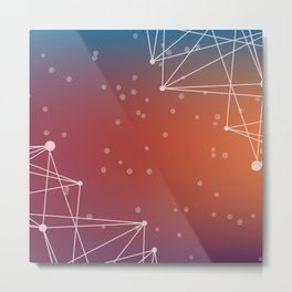 Abstract Background 13 Metal Print