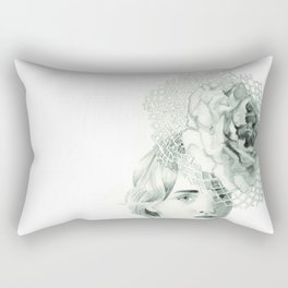 Emma in Bloom Rectangular Pillow