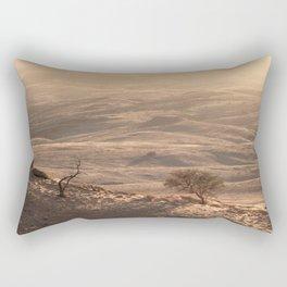 Golden Morning in Africa Rectangular Pillow