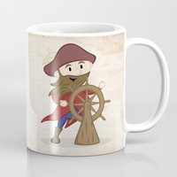 nautical Mugs featuring Nautical by Kyle Anderson