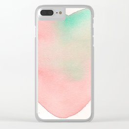 love 37 Clear iPhone Case