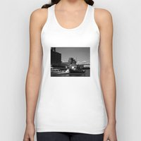 montreal Tank Tops featuring Old Port Montreal by Christophe Chiozzi