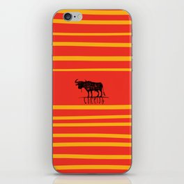 bullfighting corrida iPhone Skin