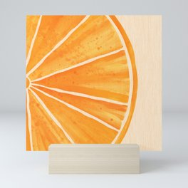 Orange You Happy Mini Art Print
