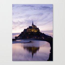 LAST LIGHT ON THE ABBEY Canvas Print