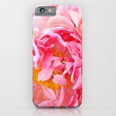 Peonies Forever II Slim Case iPhone 6