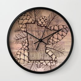 Minnesota Outdoors Wall Clock