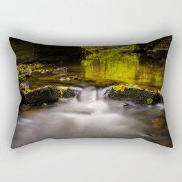 Easy flowing water in autumn Rectangular Pillow