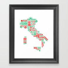 ITALIA Framed Art Print