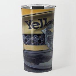 Yellow Hat Travel Mug