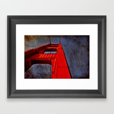 San Francisco- Golden Gate Framed Art Print