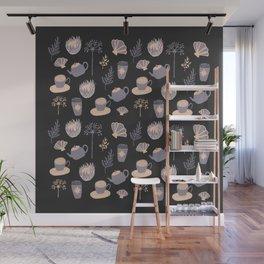 Lavender Flash Sheet Wall Mural