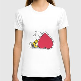 snoopy relax valentine T-shirt