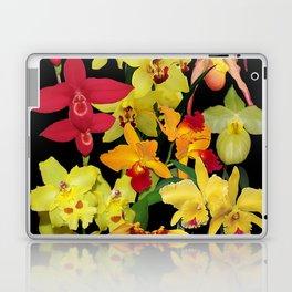 Orchids - Hot Colors! Laptop & iPad Skin