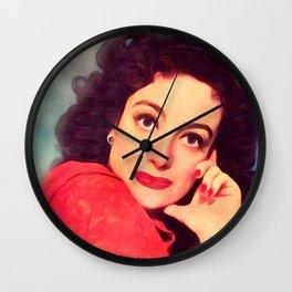 Joan Crawford, Actress Wall Clock