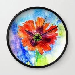 Papaver I Wall Clock