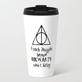 Hogwarts Teacher Travel Mug