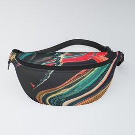 ABSTRACT COLORFUL PAINTING II-A Fanny Pack