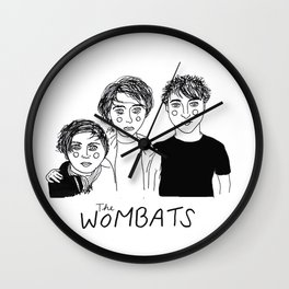 The Wombats Wall Clock
