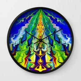 Hippie life Wall Clock