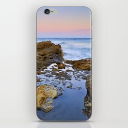 """""""Volcanic sea at pink sunset"""" iPhone Skin"""