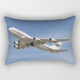 Dubai Air Wing 747-422 A6-HRM Rectangular Pillow