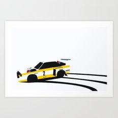 Quattro S1 Art Print