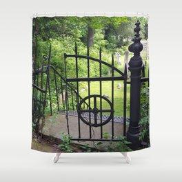 Cemetery Gate Shower Curtain
