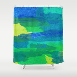 Abstract No. 463 Shower Curtain