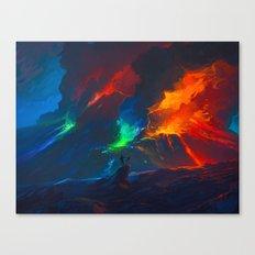 Second Painteruption Canvas Print