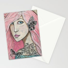 Time Enough Mixed Media Stationery Cards