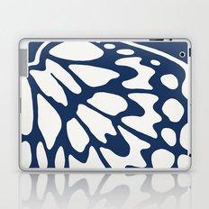 Butterfly Wings: Dusty Blue Laptop & iPad Skin