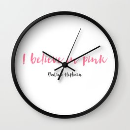 As told by Audrey Wall Clock