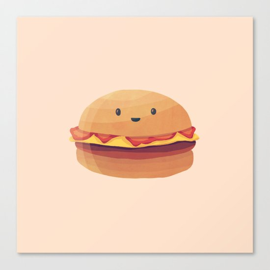 Burger Buddy Canvas Print