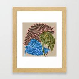 Vivid Palms I Framed Art Print