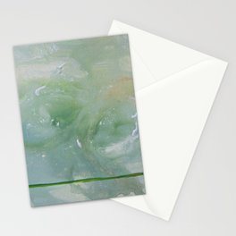 Roma Green Stationery Cards