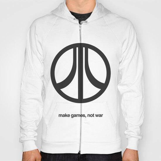 Make Games, Not War Hoody