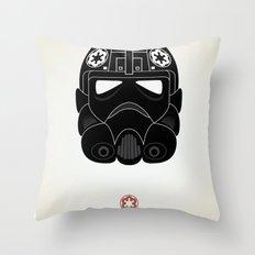 Imperial Pilot Throw Pillow