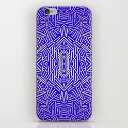 Radiate (Yellow/Ochre Royal) iPhone Skin