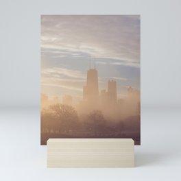 Chicago December Sunrise Mini Art Print