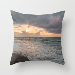 Those sunsets that wish you hope.. Throw Pillow