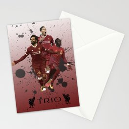 Liverpool trio attack Stationery Cards
