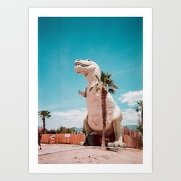 Pee Wee Dino Art Print